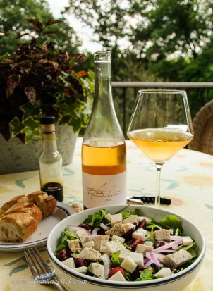 Rosato and Salad
