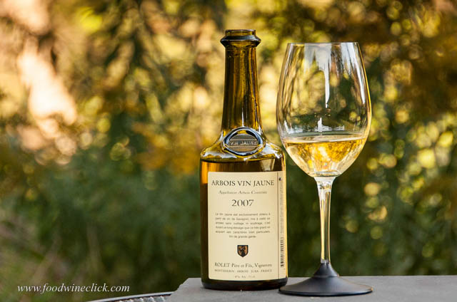 Vin Jaune is a Jura white wine which is aged under flor, just like Sherry.