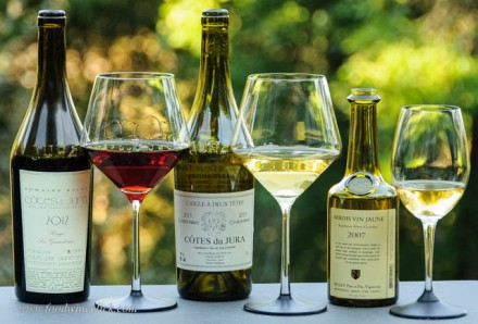 Chardonnay, Trousseau and Vin Jaune from the Jura