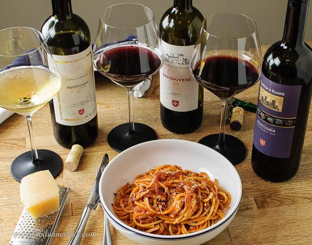Enjoy a bowl of Pasta Amatriciana and make a donation!