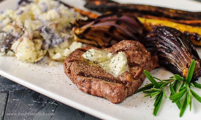 rosemary blue cheese butter topping for steak