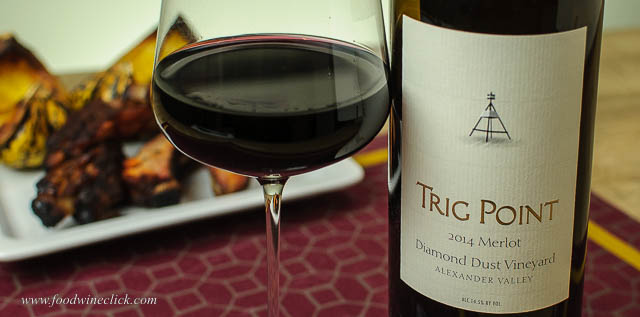 Trig Point Merlot is a nice example of fruit forward, big flavor Merlot.