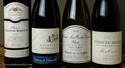 Affordable Bordeaux, Burgundy and Rhone wines