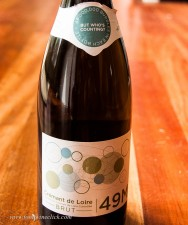 Lots of good sparkling choices from the Loire region. This is Crémant de Loire
