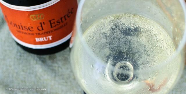 Brut sparkling wine