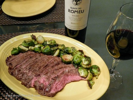 Quinta do Romeu Douro Red wine with steak