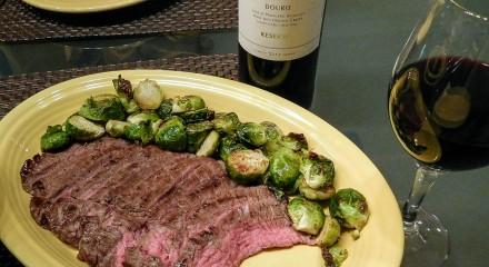 Quinta do Romeu Douro Red wine with steak