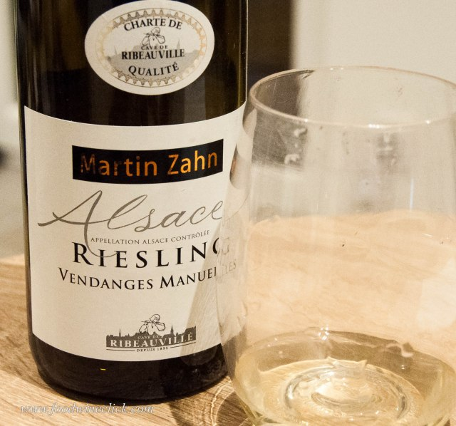 Basic, affordable and delicious, Alsace Riesling