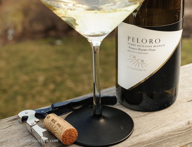 Peloro is grillo and caricante