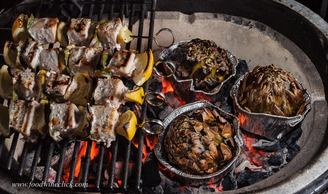 grill foods