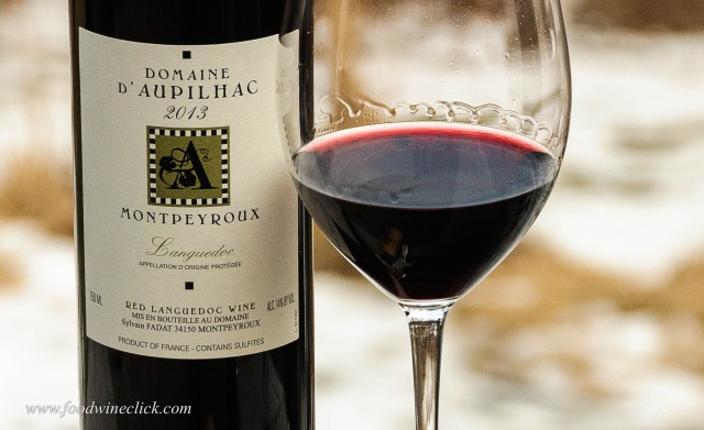 Domaine d'Aupilhac Languedoc red wine