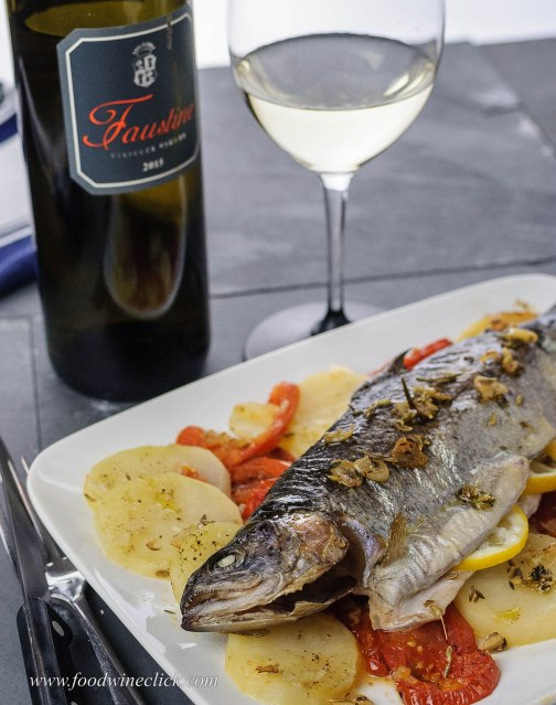 Aromatic fish and a Corsican