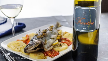 Aromatic fish and a white Corsican!