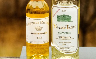 White Bordeaux and Sauternes wines