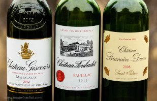 Left Bank Bordeaux wines