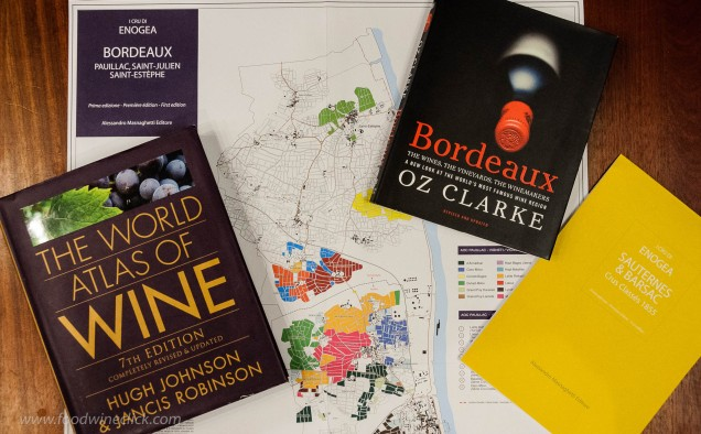 Bordeaux references and maps