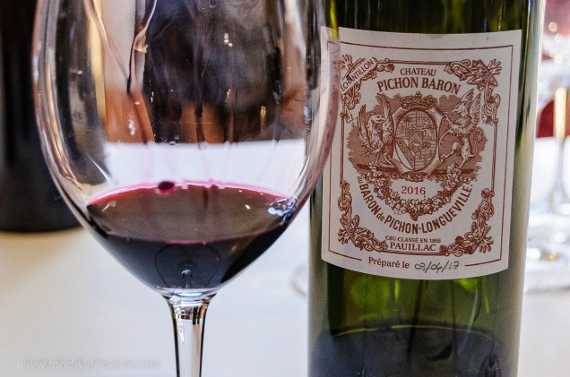 Château Pichon Baron Pauillac wine
