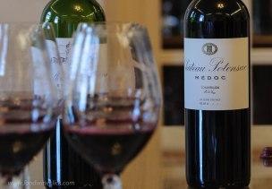 Chateau Potensec Medoc wine