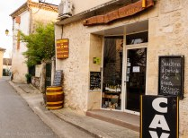 Sauternes wine shop