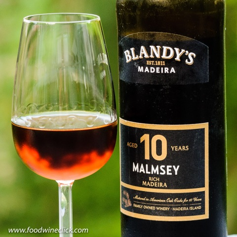 Blandy's 10 year old Malmsey Madeira