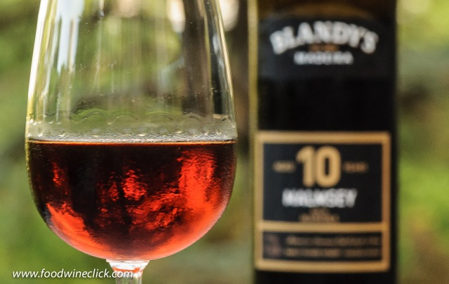 Blandy's 10 year Malmsey Madeira