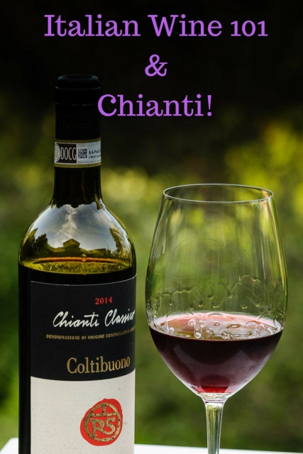 Italian Wine 101 and Chianti more at https://foodwineclick.com/category/wine-101/