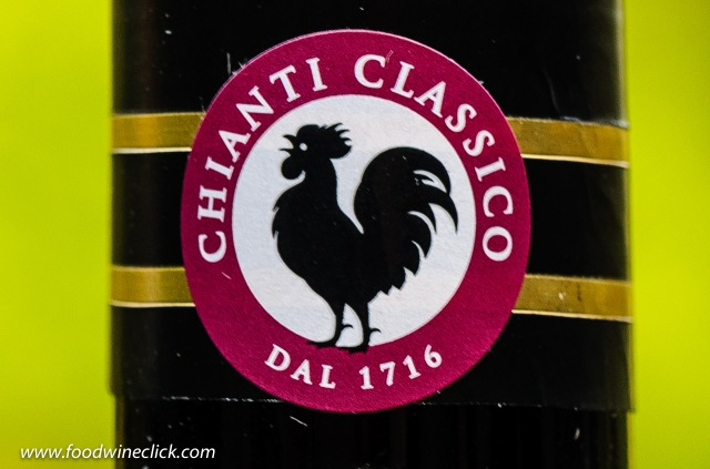 Black rooster of Chianti Classico