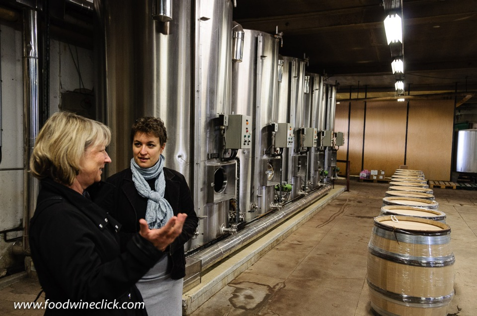 Sophie Doche, head winemaker at Louis Max