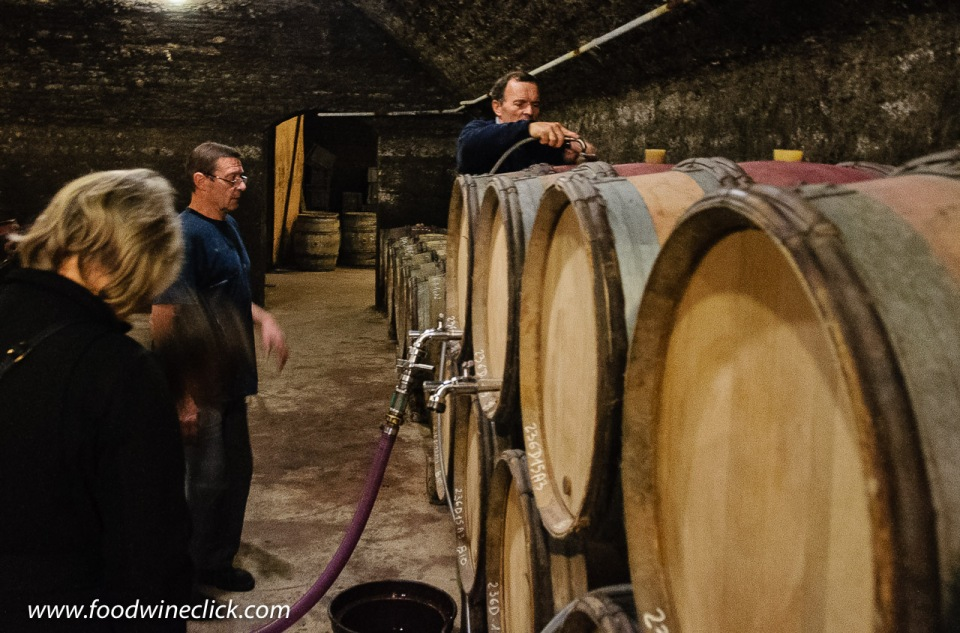 Cellars at Louis Max in Bourgogne