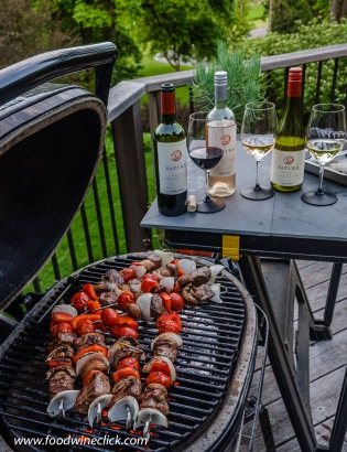 Natura Wines at the grill