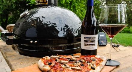 Primo Ceramic grill, pizza, and Trediberri Barber d'Alba