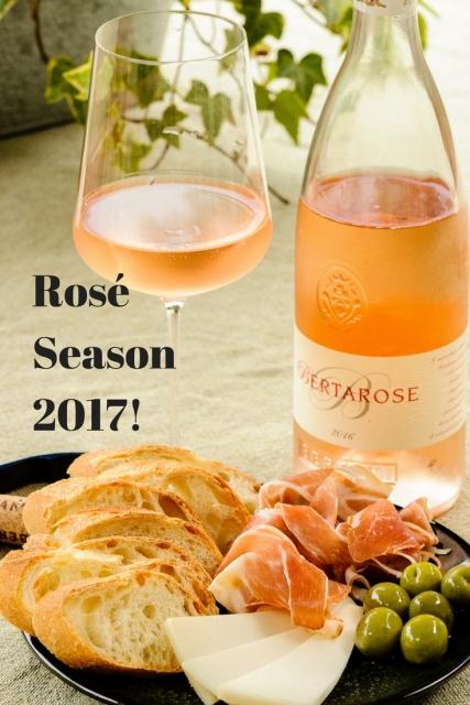 Rosé Season 2017! see www.foodwineclick.com