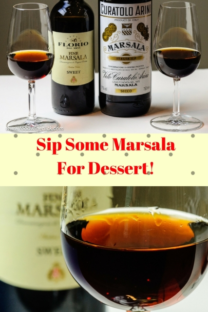 Marsala wine is so much more than cooking wine, buy a nice bottle at a wine shop and enjoy it at dessert! Details at www.foodwineclick.com