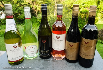 Villa Maria Wines from New Zealand