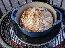 Primo ceramic grill baked bread