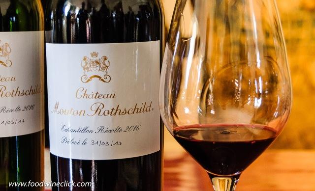 2016 en primeur Chateau Mouton Rothschild