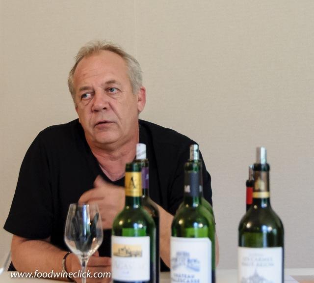 Winemaker consultant Stéphane Derenoncourt