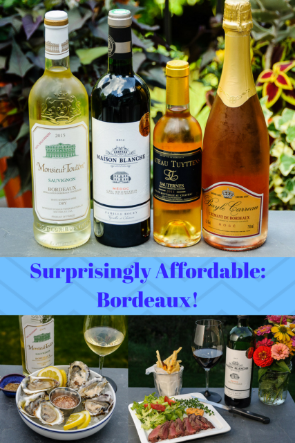 Surprise! Lots of Affordable Wines from Bordeaux www.foodwineclick.com
