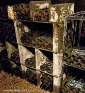 Older bottles held for family consumption
