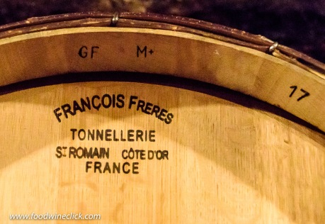 Francois Freres Tonnellerie oak barrel codes