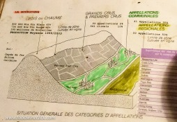 A fun older graphic explaining the arrangement of Bourgogne, Village, and 1er cru vineyard sites in Burgundy.