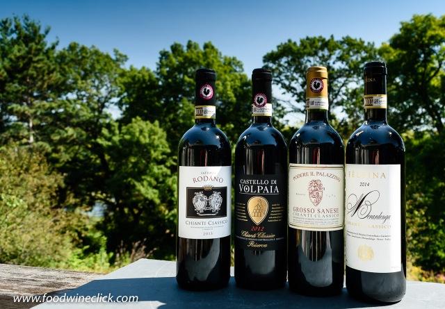four Chianti Classico wines