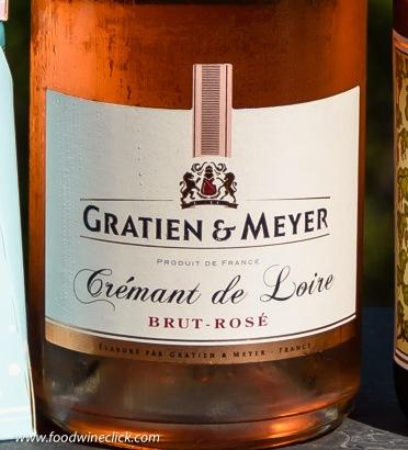 Gratien & Meyer Cremant de Loire Brut Rose