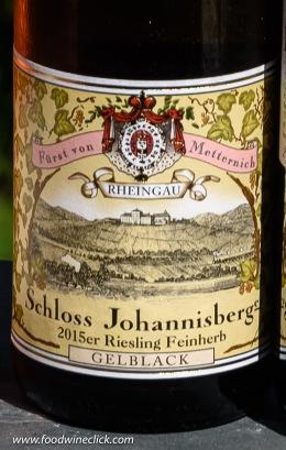 Schloss Johannisberg Feinherb (half-dry) Riesling