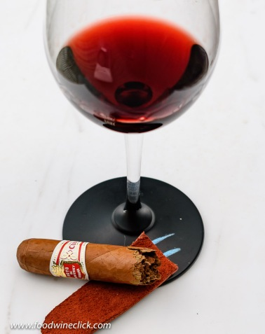 Tobacco, leather, do you ever catch a whiff in your glass?