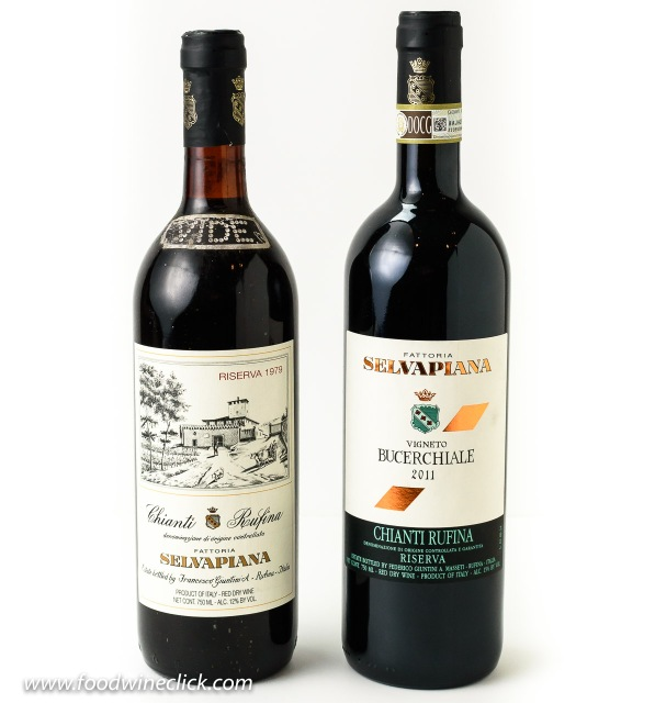 Selvapiana Chianti Rufina 1979 and 2011