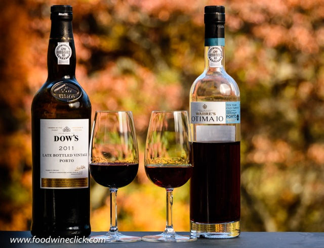Late Bottled Vintage (LBV) and 10 year Tawny Ports