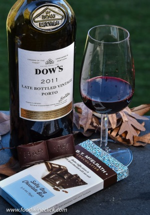 You're worth it, buy some really nice, locally made dark chocolate for that Late Bottled Vintage Port!