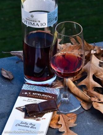 Dark chocolate and Tawny Port, you'll never pair a Cab with chocolate again!