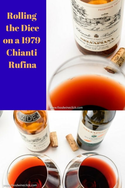 Try out a 1979 Selvapiana Chianti Rufina at www.foodwineclick.com